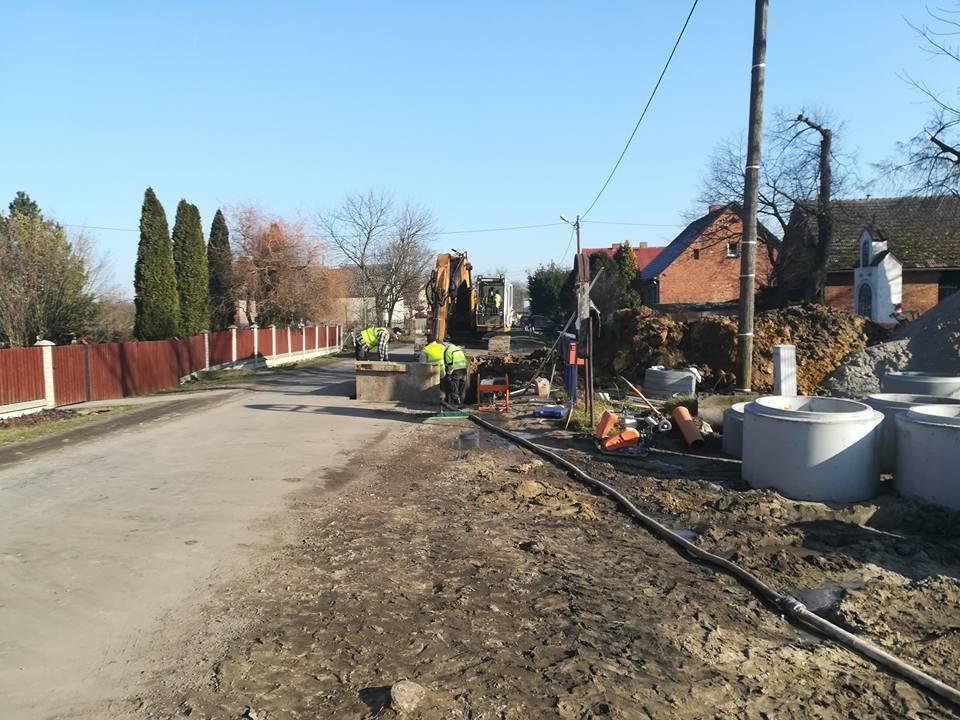 Budowa sieci kanalizacji sanitarnej w miejscowości Bukowa Śląska
